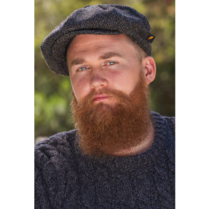 5f03163bfe2 Trinity  Herringbone Tweed Flat Cap by Aran Sweater Market – Beard ...